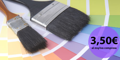 Offerta tinteggiature e pitture interne